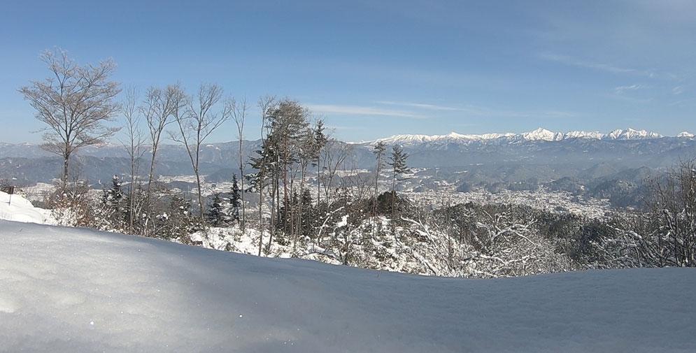 松倉城からの景色