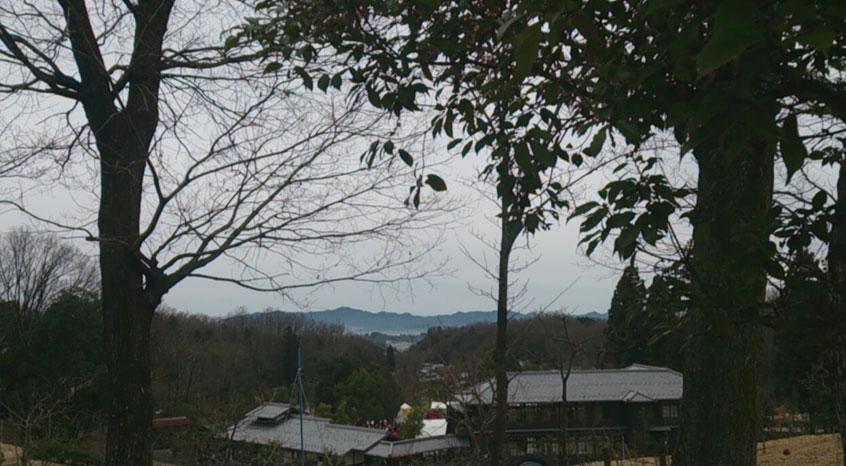 スタート地点付近から見た風景
