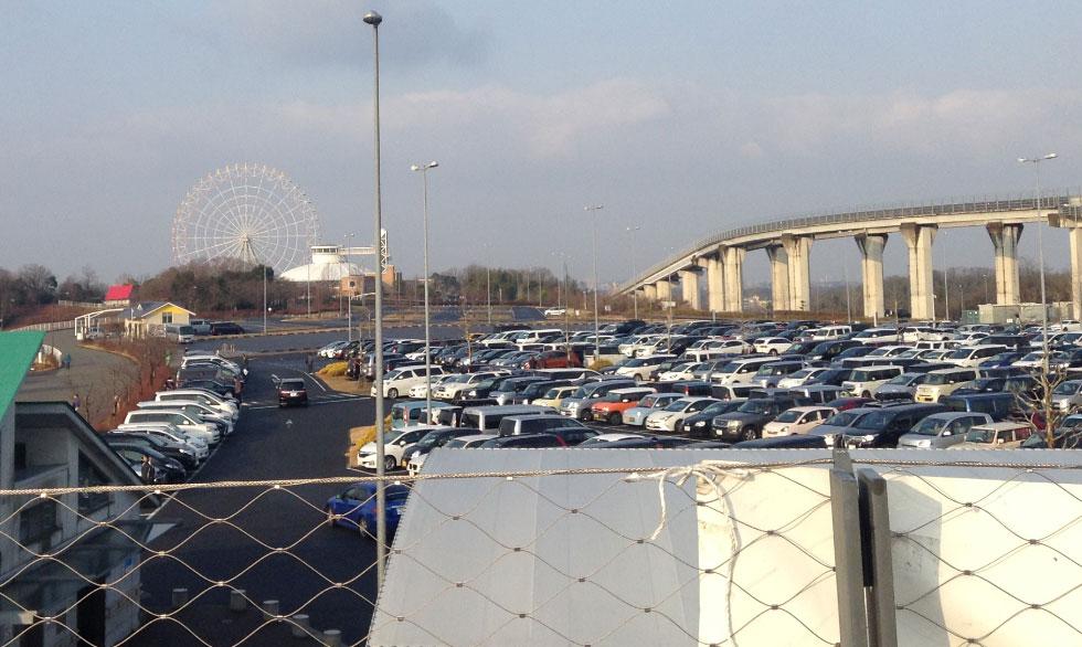 モリコロパーク駐車場