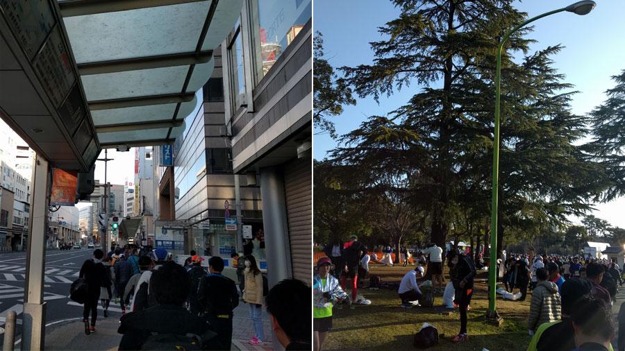 静岡駅からの道中と会場。