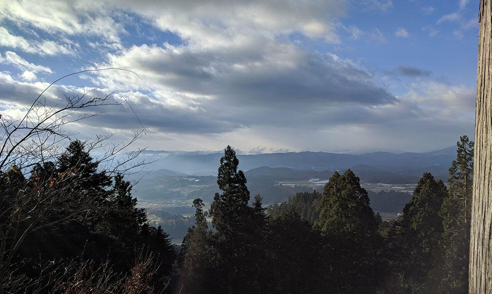 千光寺から見た町並み
