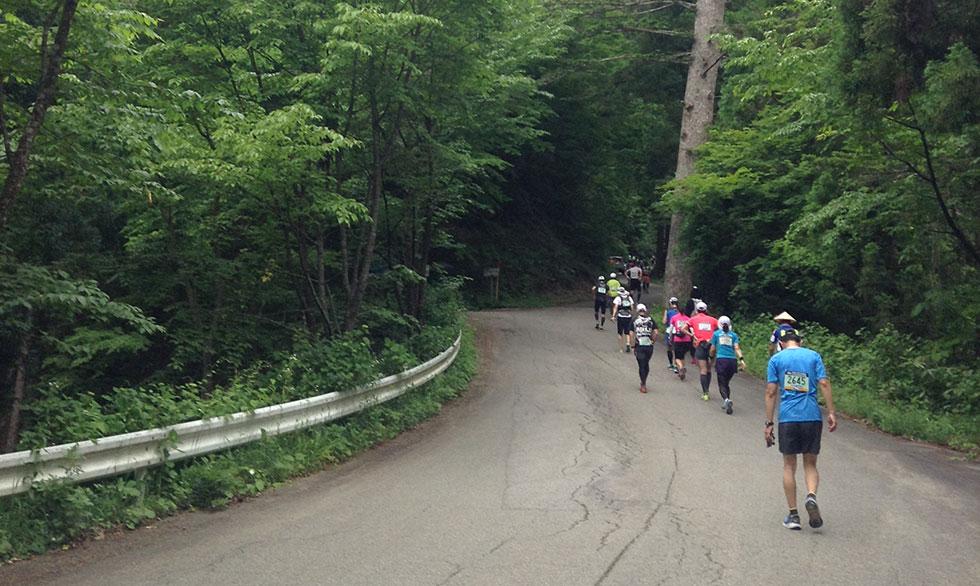 千光寺への坂道
