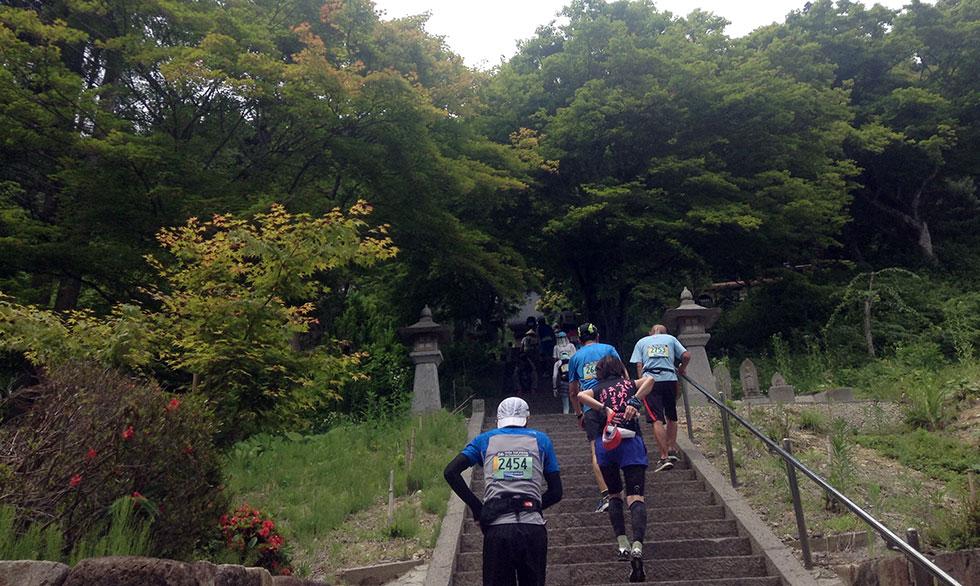 千光寺の石階段